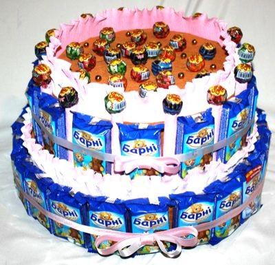 декоративные торты фото на день рождение